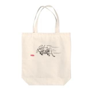 医療獣戯画8 Tote bags