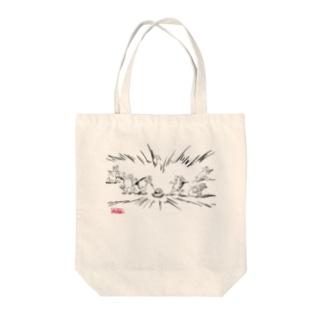 医療獣戯画10 Tote bags