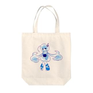 くらげ娘の帝姫ちゃん Tote bags