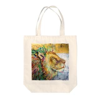 guru.glicoのライオン Tote Bag
