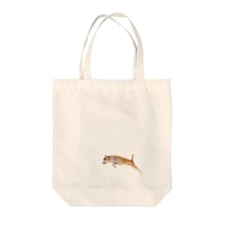 俊敏なコロッケ Tote bags