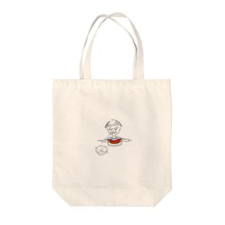 種飛ばし Tote bags