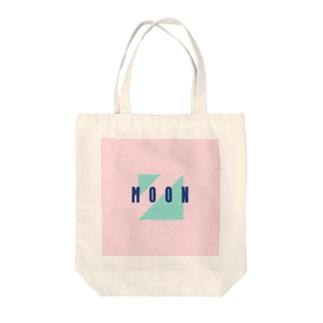 moon3 Tote bags