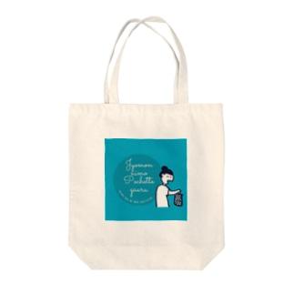リスペクト縄文ポシェット Tote bags