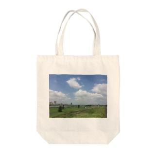 河川敷 Tote Bag