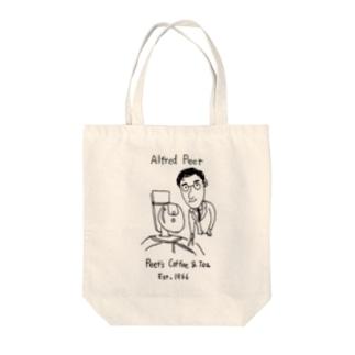 アルフレッド・ピート Tote bags