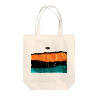 しごとべや Tote bags