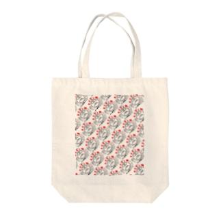 ナガラ食品ホルモン鍋デザイン Tote bags