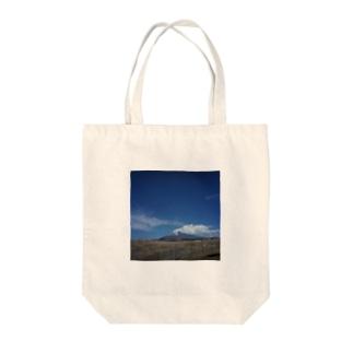 fujisan 2017 Tote bags