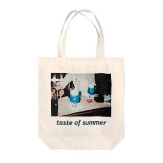 taste of summer Tote bags