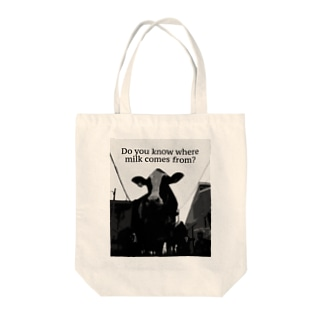 Do you know where milk comes from? Tote bags