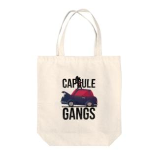 CAPSULE GANGS Tote bags