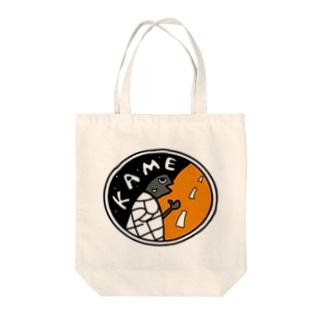 jokeboxのカメちゃん Tote bags