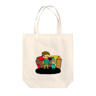 はじめての街 Tote bags