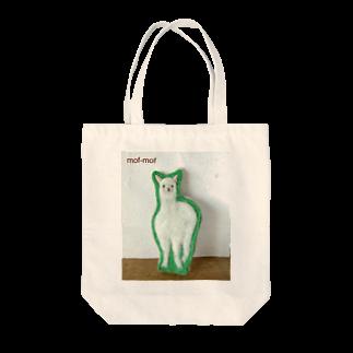 羊毛フェルト mof-mof(モフモフ)のmof-mof こどもアルパカ Tote bags