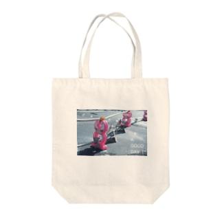 kazaruruの安全ガール Tote bags