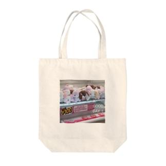 kazaruruのぬいぐるみちゃん Tote bags