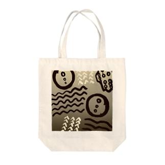 イボタガ【Always with Bugs・鱗翅パターン】 Tote bags