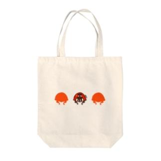 ナナホシテントウ【LOVE BUGS!】 Tote bags
