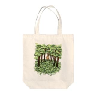 マー君と森 Tote bags