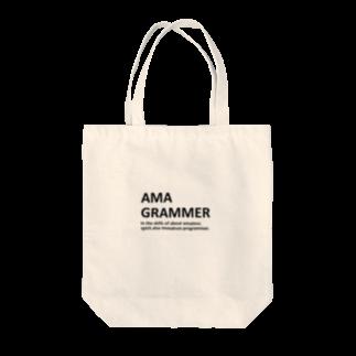 アシベズヘアのAMAGRAMMER Tote bags