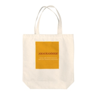 AMAGRAMMER? Tote bags