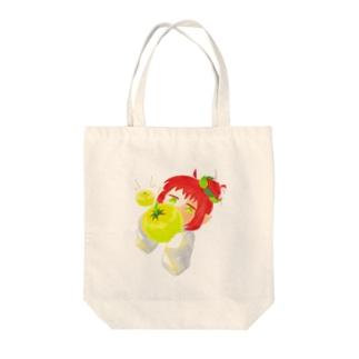 黄トマト Tote bags