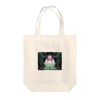 オオツキカエデの森の左右対称 Tote bags