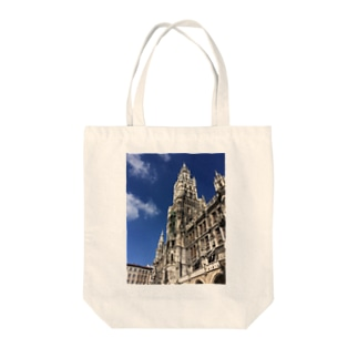 世界の風景:Marienplatz  Tote bags