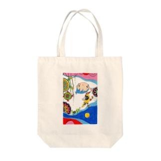 ゼンタングル~ Tote bags