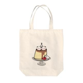twins pudding Tote Bag