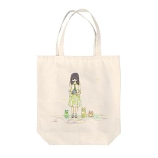 守り玉 Tote bags
