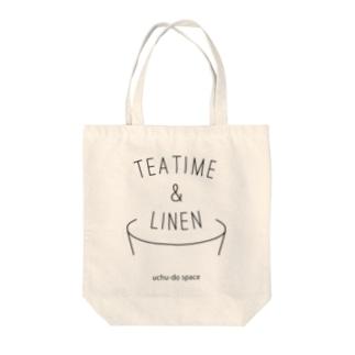 TEA TIME&LINEN トートバッグ