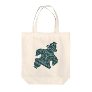 遮光器土偶ナナメ Tote bags