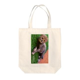 芝生しばふちゃん Tote bags