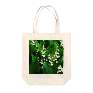Lily of the Valley Tote bags