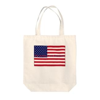 AMERICAN Tote bags