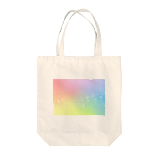パステル⭐︎キラキラ Tote bags