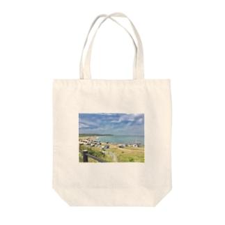 犬吠埼のやつ Tote bags