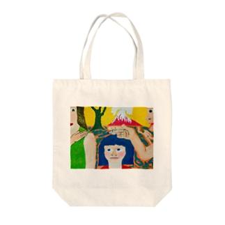 救い Tote bags