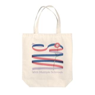 多発性硬化症マイバッグ「若い女性に多い疾患」 Tote bags