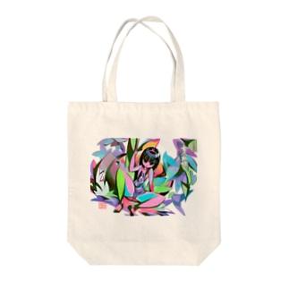 金太郎姫 Tote bags