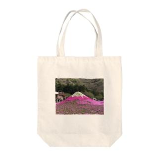 芝桜富士 Tote bags