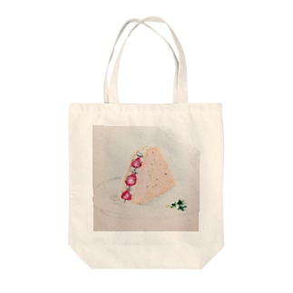 いちごサンド🍓 Tote bags