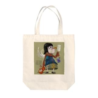 ティムバートン風 Tote bags