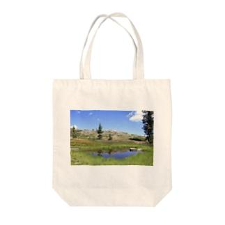 第2ハートレイク Tote bags