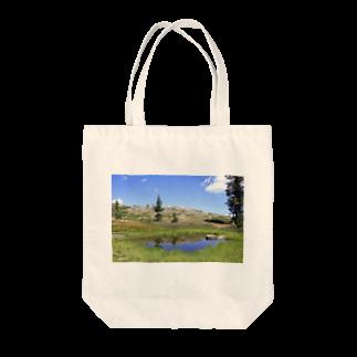 天使のやすらぎの第2ハートレイク Tote bags