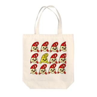 WIN名ちゃん Tote bags