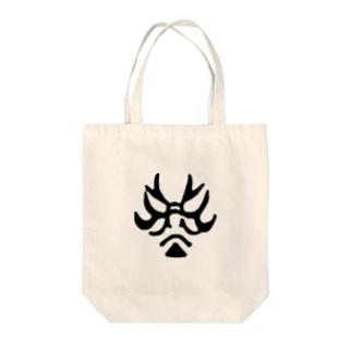 じゃぱにぃずKUMADORI Tote bags