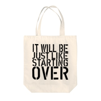 STARTING OVER 2 Tote bags